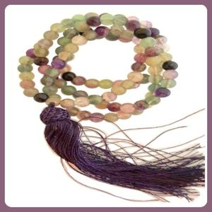 Jewelry - Rainbow Fluorite Mala